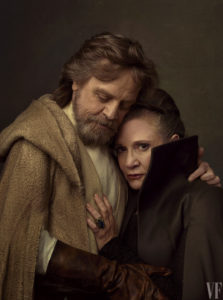 Last Jedi: Luke and Leia Hug
